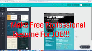 how to make best resume for job youtube