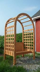 Garden Arch Plans Bench Arbor Bench Arbor Bench Cabernet Arbor Bench Swing Plans