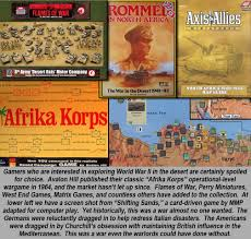 the desert war gaming ww2 in north africa part one u2013 overview and