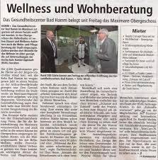 Bad Hamm Presse Gesundheitscentrum Bad Hamm