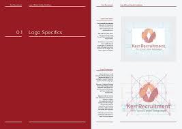 14 16 page logo u0026 brand identity guidelines template for download