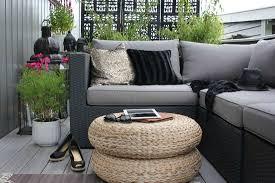canapé balcon aménager sa terrasse mes coups de coeur atelier fleur de mai