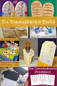 crafts ten commandments bible crafts and activities