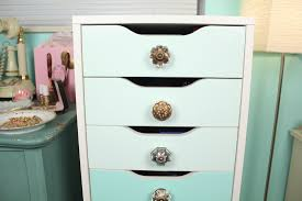 diy custom ikea alex drawers for makeup storage it u0027s kate spicer