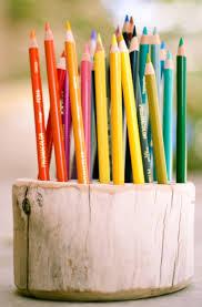 non floral centerpieces u2013 color pencil centerpieces budget