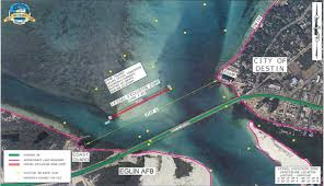 Destin Map Vessel Exclusion Zone Ordinance Requested For Destin Fl Party Spot