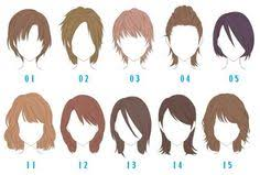 names of anime inspired hair styles men s hairstyles names listed help to coordinate better with a
