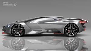 peugeot supercar 0 to 100 kph in just 1 73 seconds u2026 with the peugeot vision gran