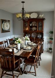 before after dining room reveal