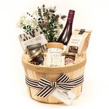 Inexpensive Housewarming Gifts by A Toronto Gift Basket With A Selection Of Local Luxuries For The