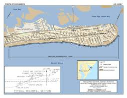 Map Of New Jersey Shore New Jersey Shore Protection Great Egg Harbor And Peck Beach