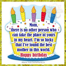 happy birthday mom wishes messages in english smileworld