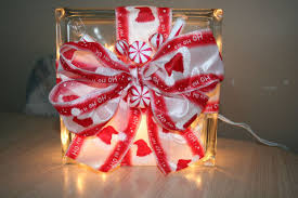 Glass Block Christmas Decoration 6 Steps with