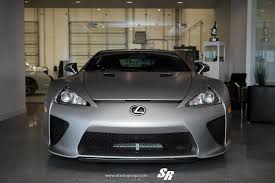 lexus lfa crash matte silver metallic lexus lfa on pur wheels pic 6 sssupersports