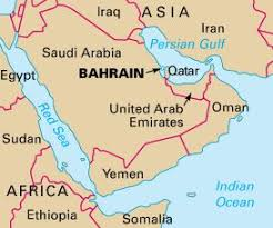 map of bahrain adventure bahrain country and middle east
