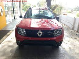 renault duster white renault duster xtronic cvt launch soon price images all details