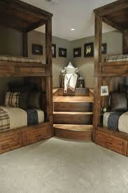 rustic bedroom ideas bed with steps at ideas best 25 bunk beds stairs on