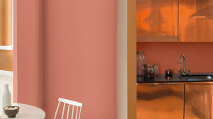 Couleur De Peinture Pour Une Chambre by Redynamiser Une Chambre En Orange Confite Dulux Valentine