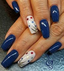 21 funky and fun 4th of july nail designs stayglam