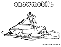 snowmobile clothes coloring pages color printing sonic coloring