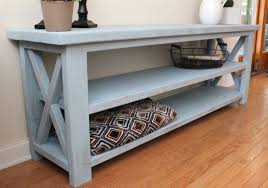 Blue Console Table White Robins Egg Blue Console Table Diy Projects