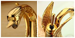 Swan Faucet Gold Verona Swan Gold Vanity Sink Faucet