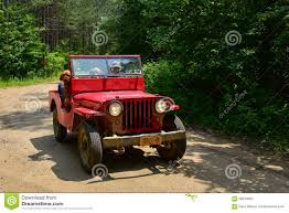 red jeep old red jeep editorial image image 56610060