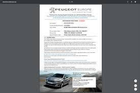 peugeot car rental europe tankstream systems innovative business software u0026 web applications