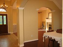 warm neutral paint colors the walls were freshly painted in a