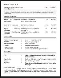 gallery of sle resume format february 2016 best it resume