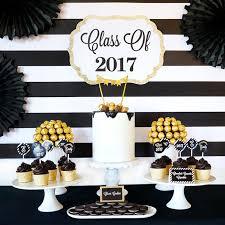 graduation party ideas kara s party ideas be bold black gold graduation party