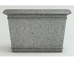 Concrete Rectangular Planter by Catalina 40 X 30 Rectangular Planters Granite Colors Commercial