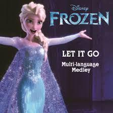 let it go let it go from frozen multi language medley single by