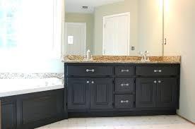 painted bathroom vanity ideas painted bathroom vanity spray paint bathroom vanity top higrand co