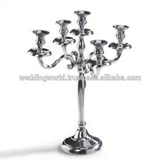 candelieri in argento argento tavolo candelabri tavola di nozze candelabri centrotavola