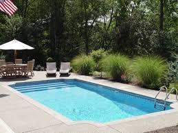 Backyard Swimming Pool Ideas Inground Swimming Pool Designs Home Interior Design Ideas