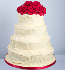 white ganache u0026 red rose sweet as cakes u2022 award winning