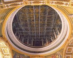 chi ha progettato la cupola di san pietro sotto la cupola di san pietro