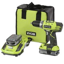 ryobi 18 volt one lithium 1 2 in cordless compact drill driver
