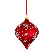 reed and barton jolly santa snowflake glass blown ornament