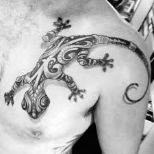 50 gecko tattoo designs for men reptile ink ideas