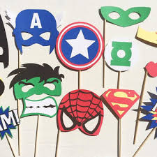 Superhero Photo Booth Toy Story Inspired Photo Booth Props From Letsgetdecorative On
