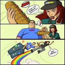 Subway Meme - best of the x grab my y meme smosh