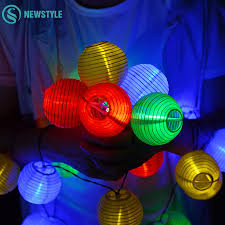 Chinese Lanterns String Lights by Online Buy Wholesale Solar Paper Lanterns From China Solar Paper