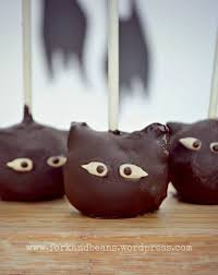 Halloween Themed Cake Pops by Raw Chocolate Cake Pops Fork And Beans