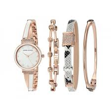 anne klein bracelet set images Women 39 s watches anne klein mother of pearl dial ladies watch and jpg