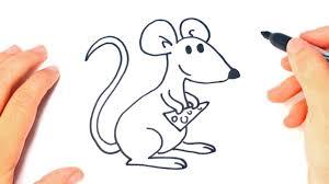 imagenes de ratones faciles para dibujar como dibujar un raton paso a paso dibujo facil de raton youtube