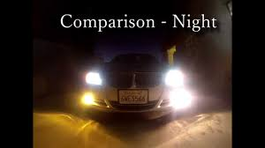 lexus yellow light nokya hyper yellow fog lights unboxing install review youtube