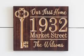 key housewarming gift brown 9 11