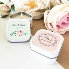 personalized candle favors candle favors wedding favor candles personalized candles